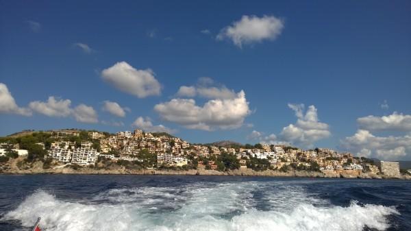 Mallorca desde la costa