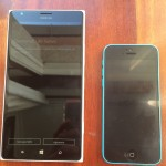 Nokia Lumia 1520 frente a iPhone 5C