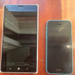 Nokia Lumia 1520 frente a iPhone 5C
