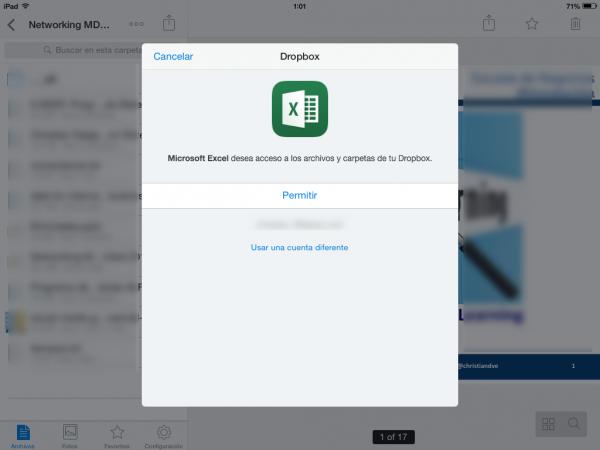 Ya se puede acceder a Dropbox desde Office