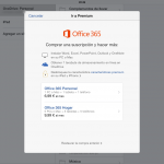 Office 365 en iPad