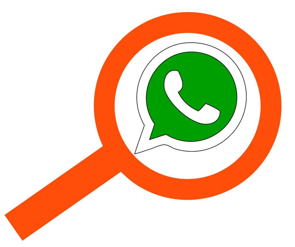 Como buscar a una persona en whatsapp con numero