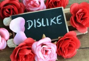 Lo que no le gusta a Facebook....