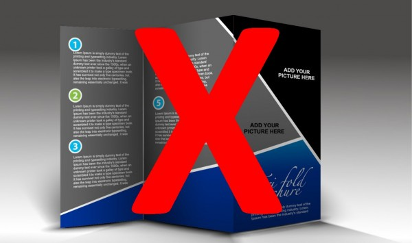 Una web no es un folleto en Internet