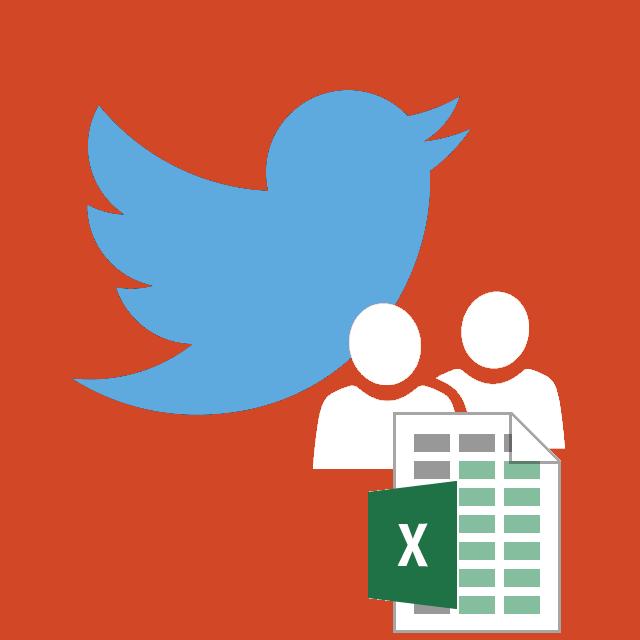 Twitter: gestionar contactos y plantilla para importarlos desde ...