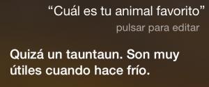 ¿Cuál es tu animal favorito? Quizá un tauntaun. Son muy útiles cuando hace frío.