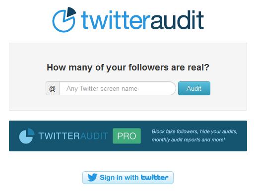 TwitterAudit: ¿Sabes cuántos seguidores falsos tienes en Twitter? Top 10 de los que más compran en España