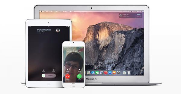 Continuity: llamar por teléfono y enviar y recibir SMS desde iPad, iPod y Mac OS X