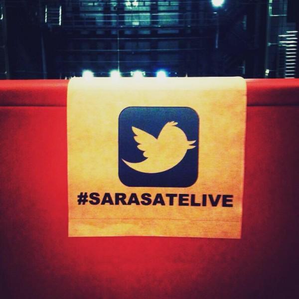Twitterseats en Baluarte para SarasateLive