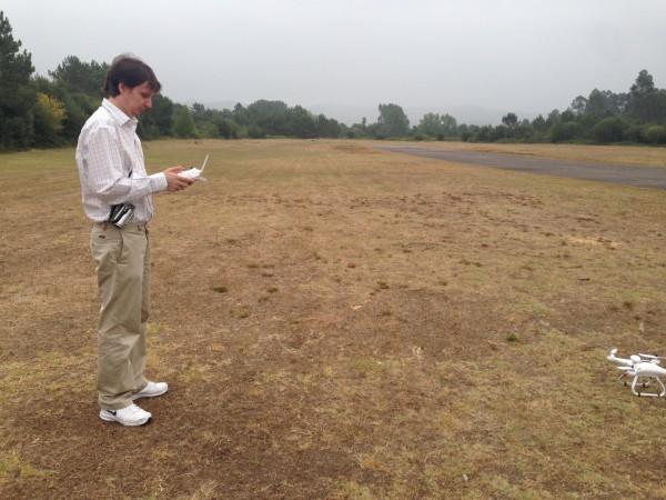 Despegando el dron Cheerson CX-20