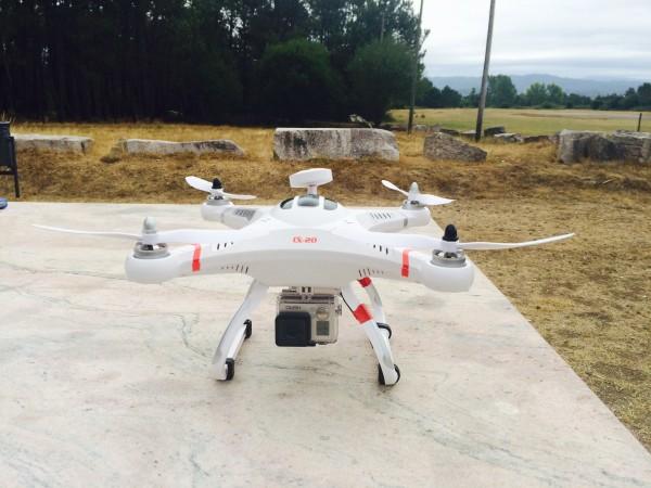 Cheerson CX-20 con la cámara GoPro
