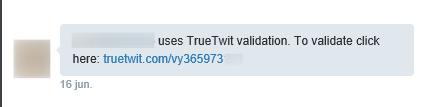 TrueTwitt - DM