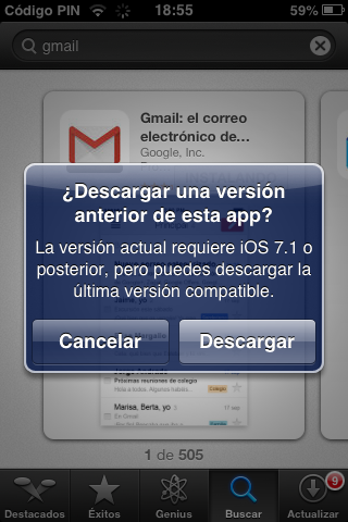 descargar youtube para ipad ios 5.1.1