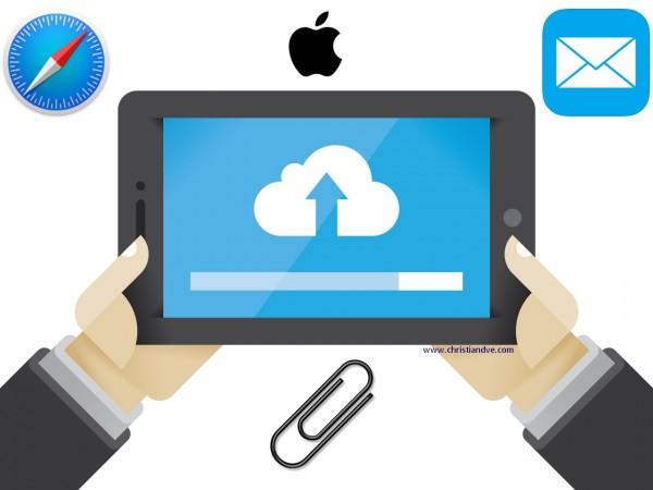 iPhone, iPad: Cómo adjuntar cualquier archivo al mail o subirlo a una web