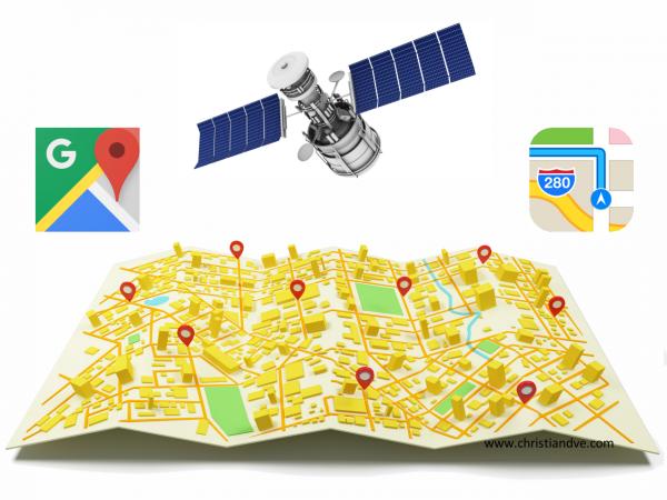 Cómo buscar por coordenadas GPS en Google Maps y Apple Maps