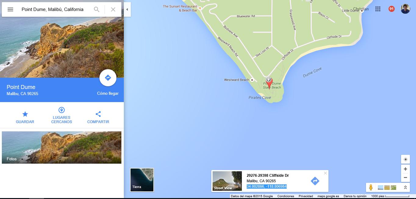 Cmo buscar por coordenadas gps en google maps y apple maps coordenadas en google maps gumiabroncs Choice Image