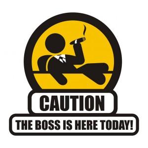 Cuidado con el jefe: marrón a la vista