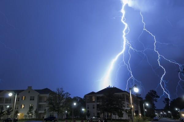 Tempestad en casa...