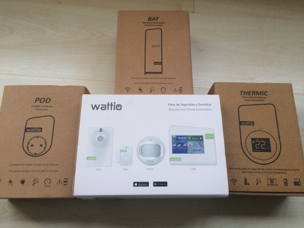Pack domótico de Wattio: confort, seguridad y control de eficiencia eléctrica
