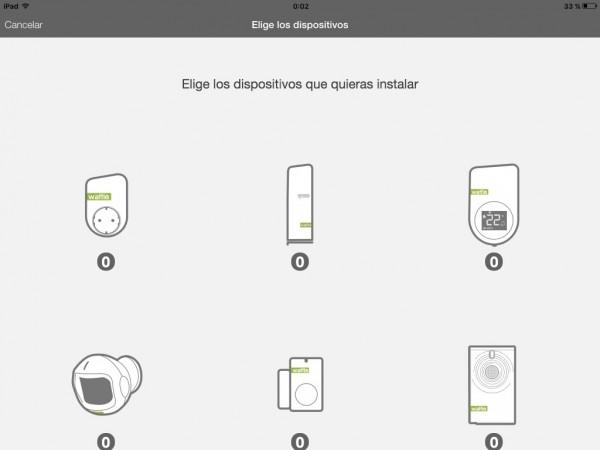Selector de dispositivos