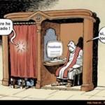 Padre, he pecado... Lo sé (por Facebook)