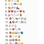 Refranes por WhatsApp con emoticonos: ¿cuántos reconoces?