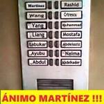 ¡Ánimo Martínez!