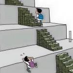 La vida con y sin dinero...