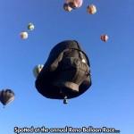 En la carrera de globos de Reno...