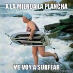 ¡Me voy a surfear!