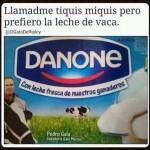 Llamadme tiquismiquis, pero prefiero la leche de vaca