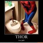 Pero qué mala idea tiene Thor...