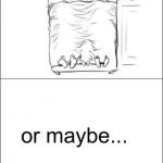 Siempre me he preguntado cómo es posible esa imagen y cómo debe ser el niño de la cama.