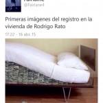 Primeras imágenes del registro de la vivienda de Rodrigo Rato