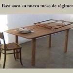 Ikea saca su nueva mesa para hacer dieta...