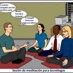 Meditación para tecnólogos: hay que vaciar la caché y poner el historial en blanco...