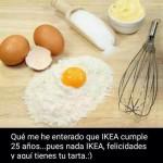 La tarta para Ikea...