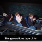 La forma de divertirse de la generación actual