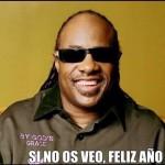 Si no os veo, feliz año... (Stevie Wonder)