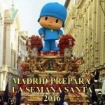 Madrid se prepara para la Semana Santa 2016