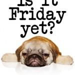¿Ya es viernes?