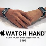 Apple Watch hand (para tener manos compatibles con el Apple Watch)