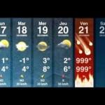Previsión del tiempo para finales de 2012
