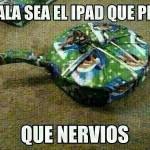 ¡Ojalá sea el iPad! ¡Qué nervios!
