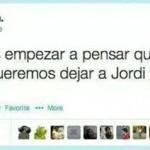 Tenemos que empezar a pensar en qué mundo le queremos dejar a Jordi Hurtado