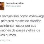 Las parejas son como Volkswagen...