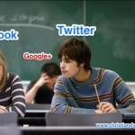 Facebook, Twitter y Google+ en clase
