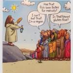 Los panes y los peces: ¿No tienes sin gluten? Yo soy vegano. ¿Seguro que no tiene mercurio?