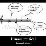 Humor musical (muy pocos lo entienden)