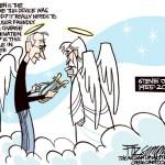Steve Jobs dando lecciones a Dios...